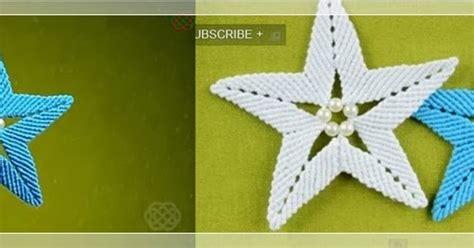 sd bintang bontang yuk belajar membuat mozaik about macrame membuat gantungan kunci bintang dengan