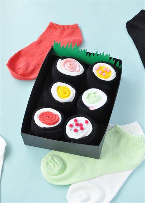 Handmade Sushi - diy sushi socks handmade