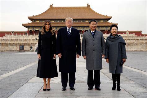 donald trump visit china how japan china and south korea wooed donald trump time