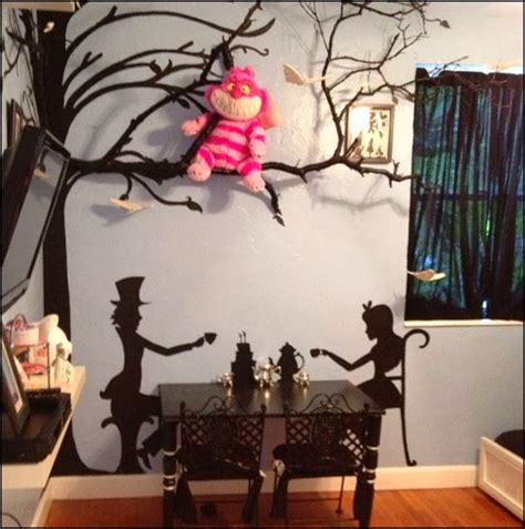 cat decor for the home alice in wonderland bedroom decorating ideas love