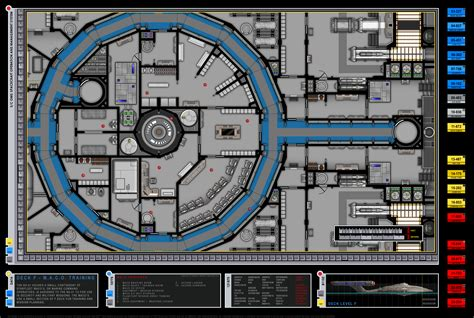 star trek enterprise floor plans enterprise nx 01 m a c o training deck f star trek