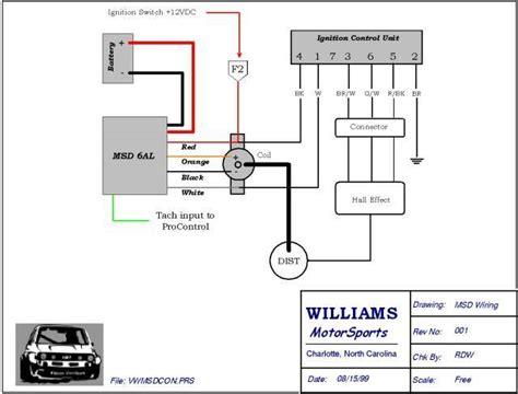 msd 6al wiring diagram honda pcm wiring diagram wiring