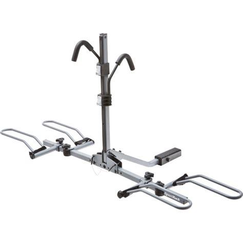 Walmart Bike Rack by Sportrack 2 Bike Lock And Tilt Platform Hitch Mounted Rack