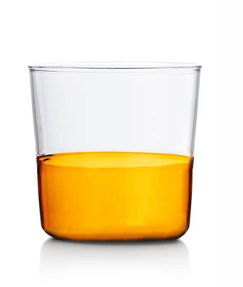 ichendorf bicchieri bicchiere acqua ichendorf collezione light colore ambra