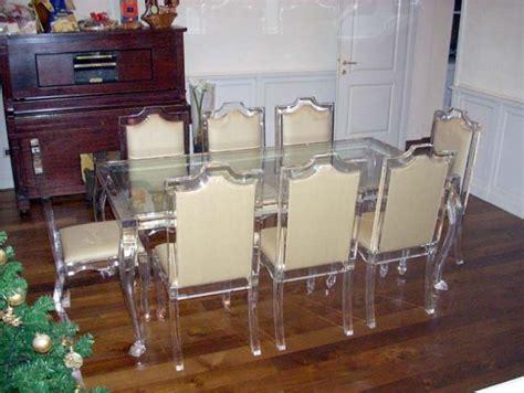 tavolo in plexiglass tavolo da pranzo rettangolare plexdesign prodotti