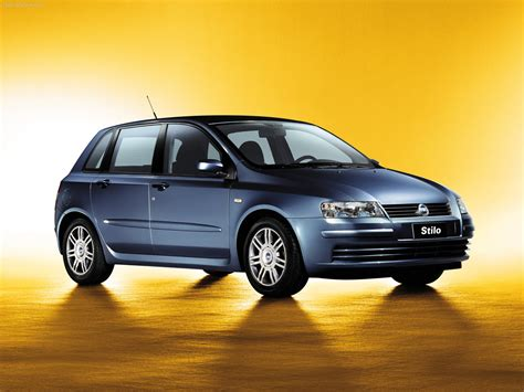 fiat stilo 2002 la fiat stilo est une voiture familiale produite