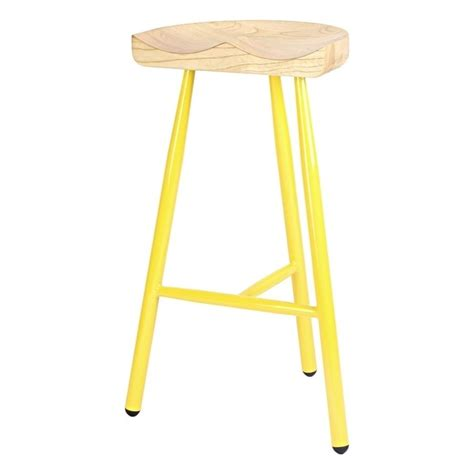 low wooden stools low stools light wood lounge bar furniture wooden buy yellow 3 leg metal bar stool with solid light wood