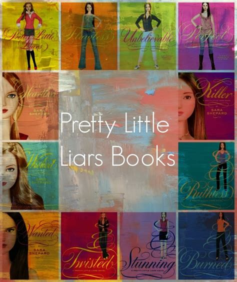pretty liars book report pretty liars books