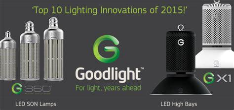 top 10 lighting companies goodlight gx1 g360 on top 10 lighting innovations of