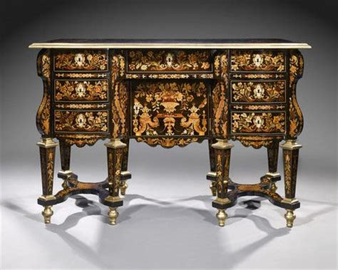 Goles Furniture the bureau mazarin desks floral and antique furniture