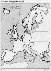 Western Europe Blank Map by Blank Map Of Western Europe Quiz
