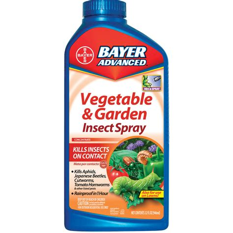shop bayer advanced 32 oz vegetable and garden insect spray liquid at lowes com