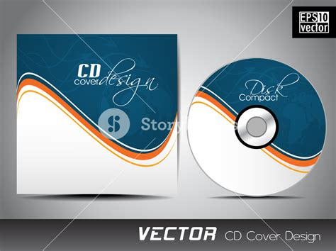 design free cd cover cd cover presentation design template with copy space and