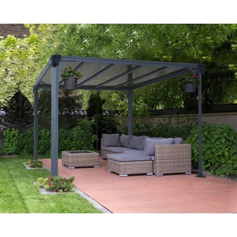 gazebo pavillon palram gazebo 3000 garden structures from garden