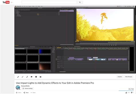 tutorial adobe premiere effects tutorial use impact lights to add dynamic effects to your