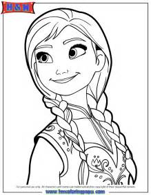 Portrait Coloring Pages free coloring pages of elsa and