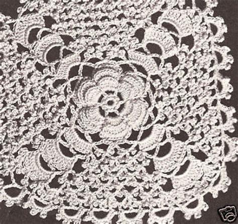 Vintage Crochet Pattern To Make Block Lace Flower vintage crochet pattern to make bedspread motif