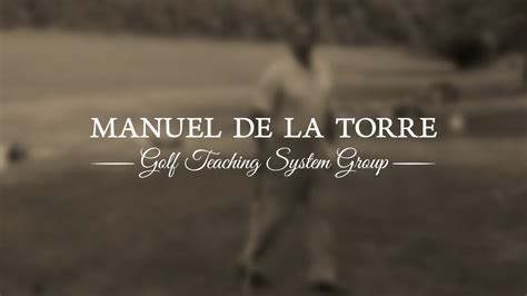 manuel de la torre golf swing manuel de la torre golf clinic 1987 the swing concept