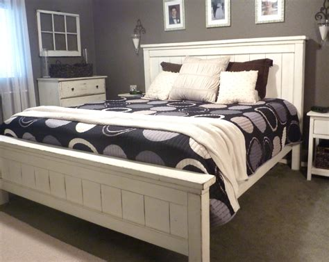 White King Bed Frame White Wood Bed Frame King Size Bed Frames Ideas