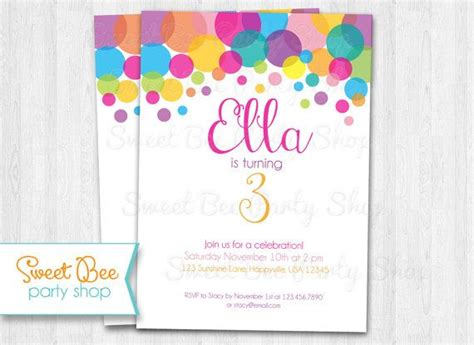 polka dot invitation template best 25 polka dot ideas on polka dot