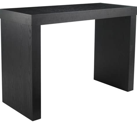 c shaped console table bar height console table sosfund