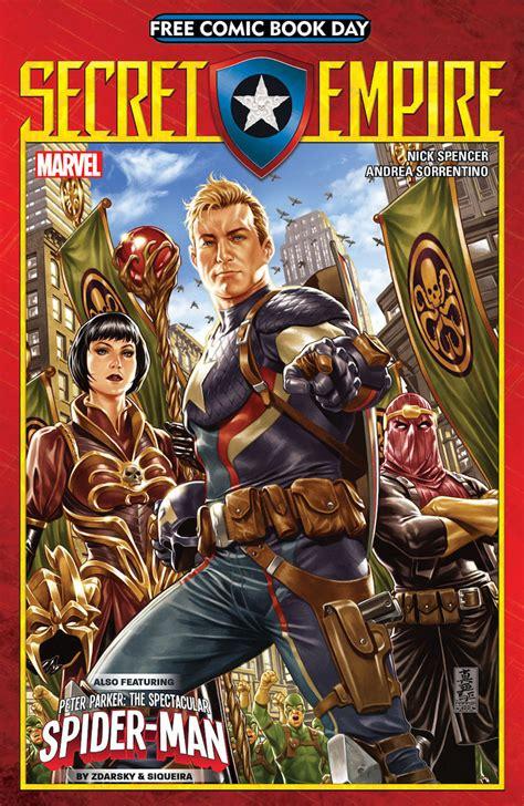 secret empire marvel comics solicitations spoilers news secret empire