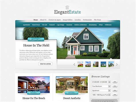 elegant themes gallery page elegantestate real estate wordpress theme