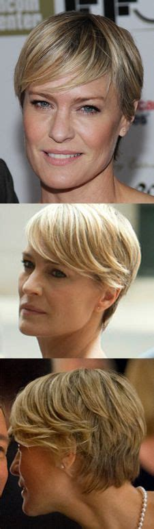 robin wright haircut video 1000 ideas about hairstyle on pinterest shorter hair