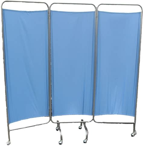 Tirai Tempat Tidur tiga kali lipat tidur rumah sakit layar bergerak tempat
