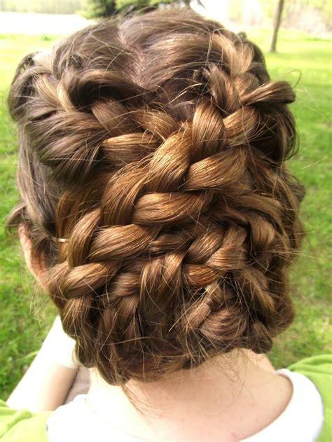 braided bridal shower bun lovely locks braided hairstyles hair styles hair