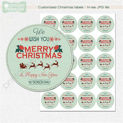 printable round christmas gift tags round christmas labels printable from myprintablemiracles on