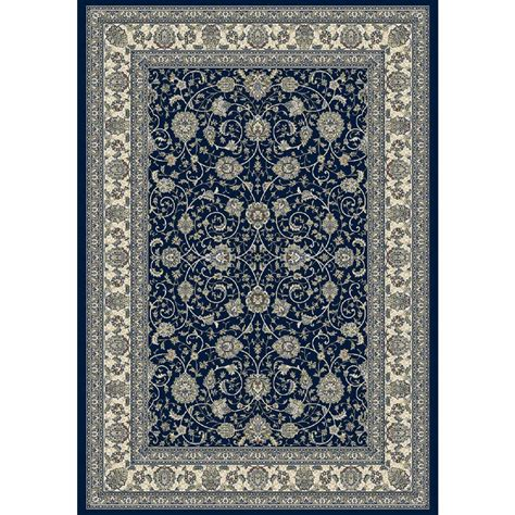10 X 12 Navy Area Rug - dynamic rugs ancient garden navy 9 ft 2 in x 12 ft 10