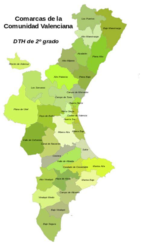 valencia y comunidad valenciana 8497760484 comarcas de la comunidad valenciana wikipedia la enciclopedia libre