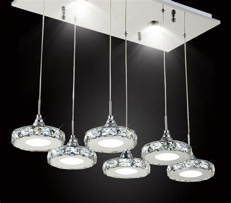luxury rings modern wireless led ceiling light