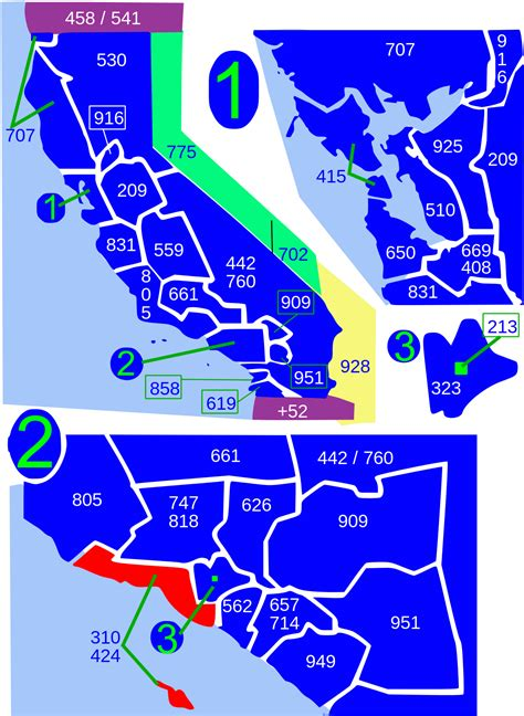 Area Code 310 Lookup Area Codes 310 And 424
