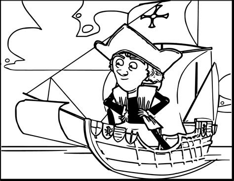 Christopher Columbus Coloring Pages Printable by Christopher Columbus Coloring Pages Printable Printable