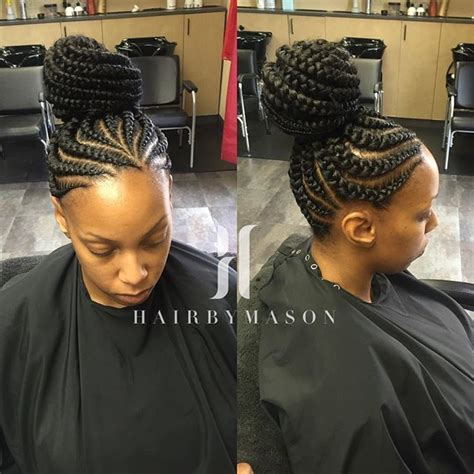 hair cut feeder feeder braids updo braids cornrows cornrowstyles