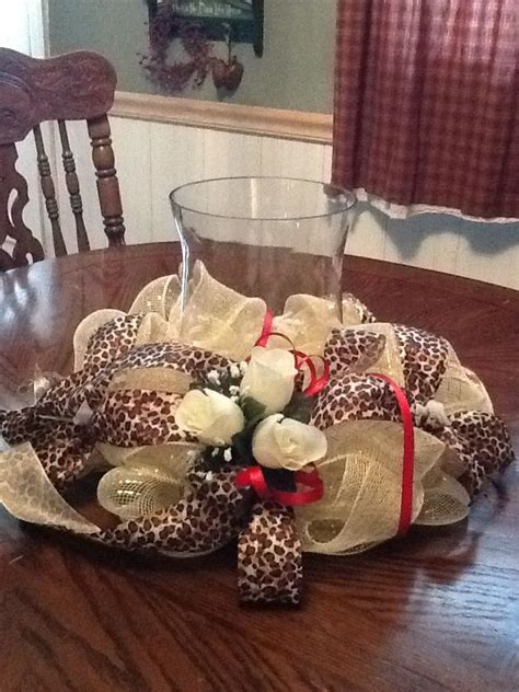 leopard print centerpieces 14 best images about wedding black brown and white cheetah print theme on