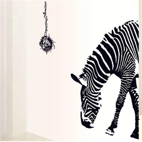 zebra wall stickers wholesale animal zebra wall stickers decoration stickers wallpaper eco friendly pvc solid color
