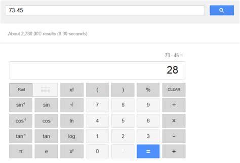 calculator google new interface for google calculator