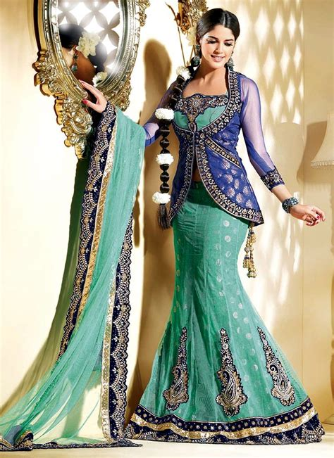 fish tail bridal lehenga choli bridal lehenga choli dress lehenga pk fish cut lehenga collection 2013 2014 bridal wear