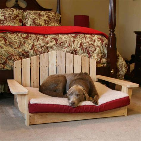 dog armchair adirondack dog chair pt dogbed lg dog chair dfohome
