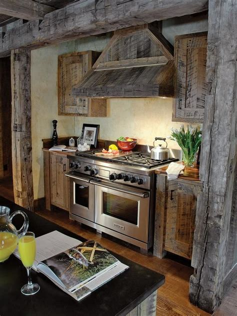 Kitchen Cabinets Made From Barn Wood Country Kitchens From Larry Pearson On Hgtv Country Style Rooms Barn Wood