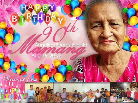 birthday tarpaulin layout design psd lola s 90th birthday tarpaulin by thearianway on deviantart