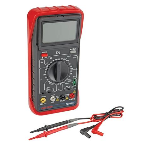 Probe Multimeter how to read a digital multimeter