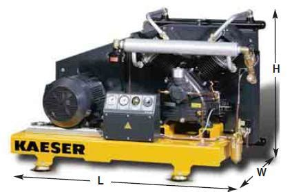 kaeser booster compressors  compressed air systems
