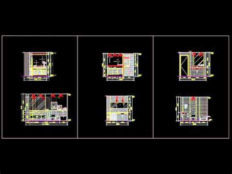 autocad block toilet design template