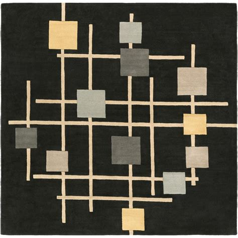 10 ft x 10 ft square rug home decorators collection city sheen black 10 ft x 10 ft