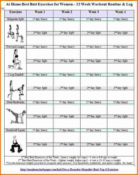 workout plans for women at home 5 printable exercise log divorce document
