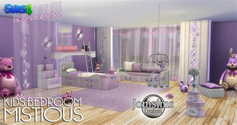 bedroom for 4 kids my sims 4 blog mistious bedroom set by jomsims